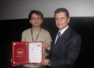 مؤسسة سما كورد تكريم المخرج ميزار بيراز