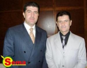 السيد نيجيرفان البارزاني و عارف رمضان