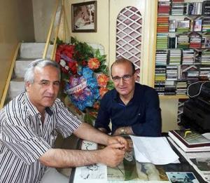 الفنان الكوردي بهاء شيخو  و حسين أحمد