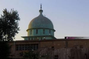 قبة الجامع الكبير في مدينة عامودا