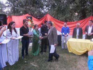 صورة من مهرجان الشعر في ديريك