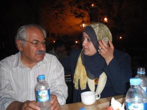 الراحل فلك الدين كاكي يي ود.سناء الشعلان