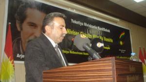 الكاتب حسن السليفاني رئيس الاتحاد