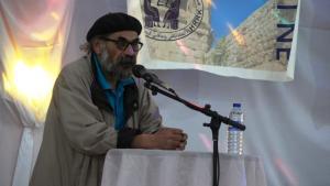 الشاعر أحمد حسيني الرئيس المشترك لاتحاد مثقفين الكرد في روج آفا