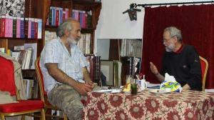 محمد حقون يتحدث للكاتب بدل رفو في المغرب