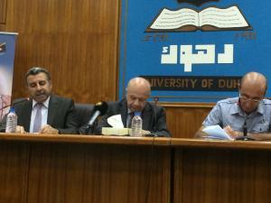 المحاضرة  اسماعيل بشكجي والكاتب حسن سليفاني