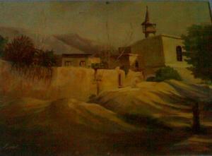 لوحة للفنان سعيد ريزاني