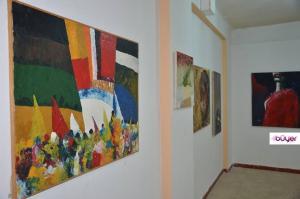 جانب من المعرض