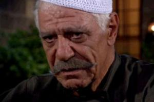 صورة للراحل من مسلسل الزعيم الذي عرض على أم بي سي