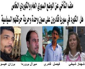 آراء بعض الناشطين والسياسيين  المشاركين في الملف  .